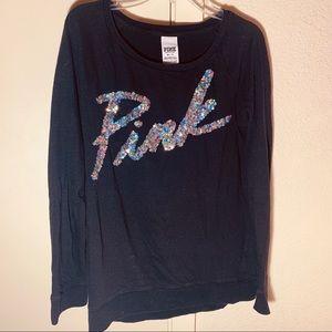 PINK Victoria's Secret Tops - 2 VS PINK SWEATSHIRTS